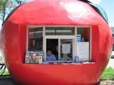 Meaford's Big Apple Tourism Booth