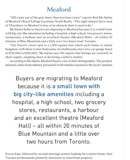 On The Bay touts Meaford