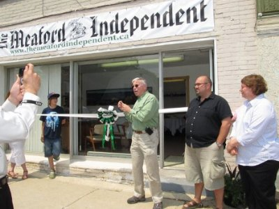 The Meaford Independent opens a new office