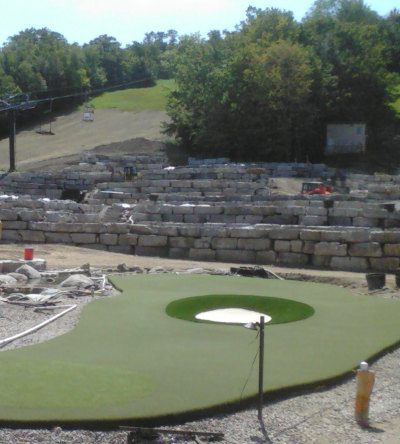 Blue Mountain's new mini golf course