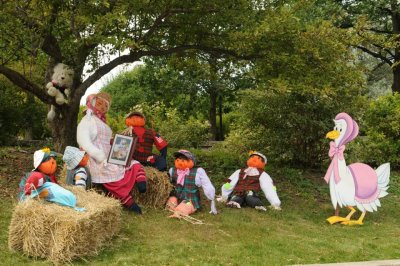Mother Goose Scarecrows