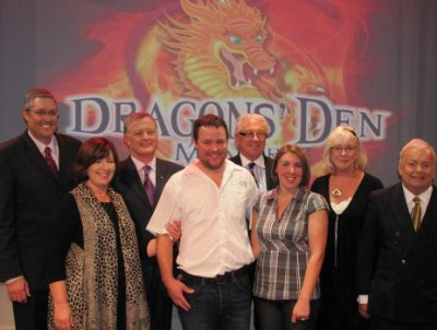 Dragons' Den Meaford winners