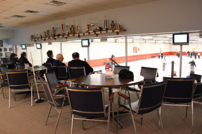 Meaford Curling Club lounge