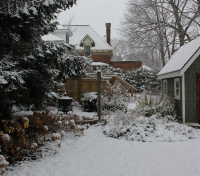 Meaford first snow