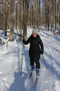 X-country skiing 2
