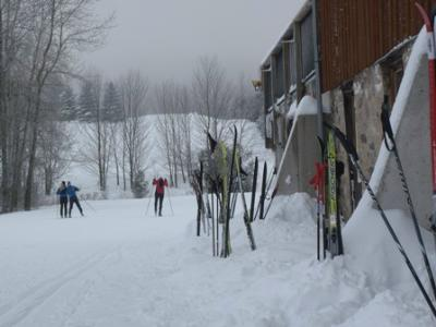 Holiday skiing at Highlands Nordic