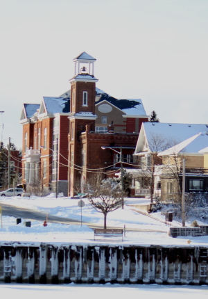 Meaford in winter