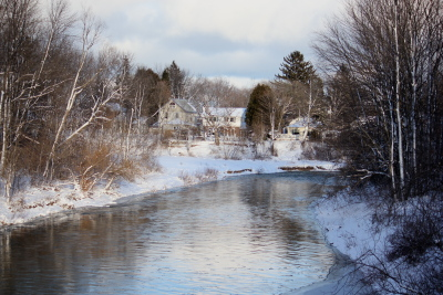 Bighead River in winter