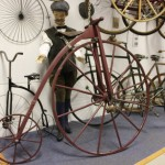 Wooden bicycle from Meaford