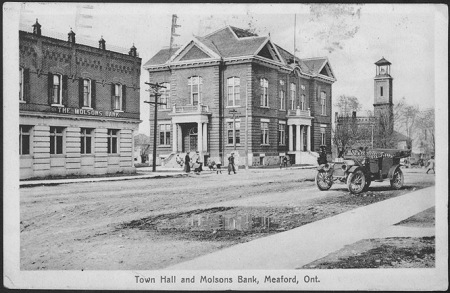 Meaford postcard