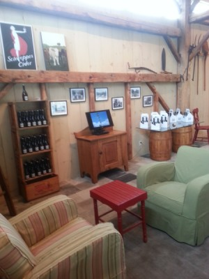 Beaver Valley Cidery barn interior