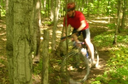 Mountain biking Meaford