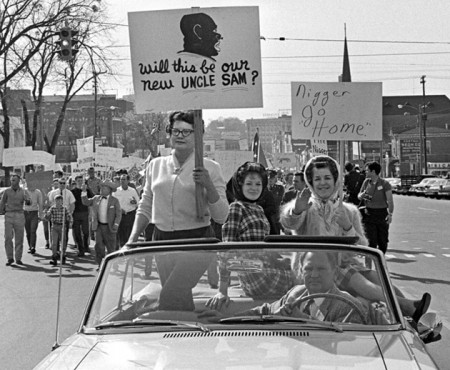 White protesters in Selma Alabama 1965