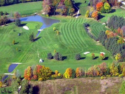 Meaford Golf Course aerial view